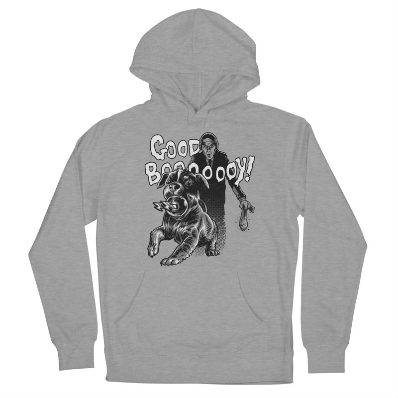 Good boy! Men's French Terry Pullover Hoody by Gimetzco's Damaged Goods