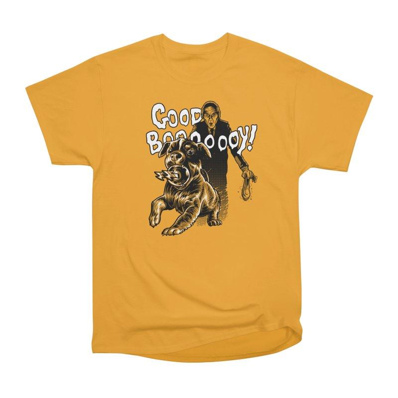 Good boy! Women's Heavyweight Unisex T-Shirt by Gimetzco's Damaged Goods