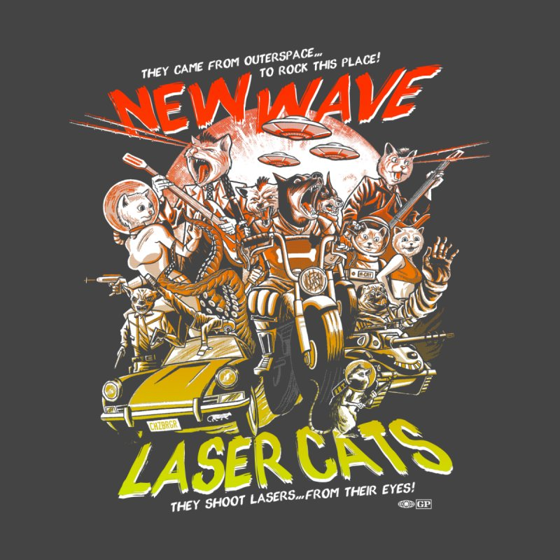 New wave laser cats by Gimetzco's Damaged Goods
