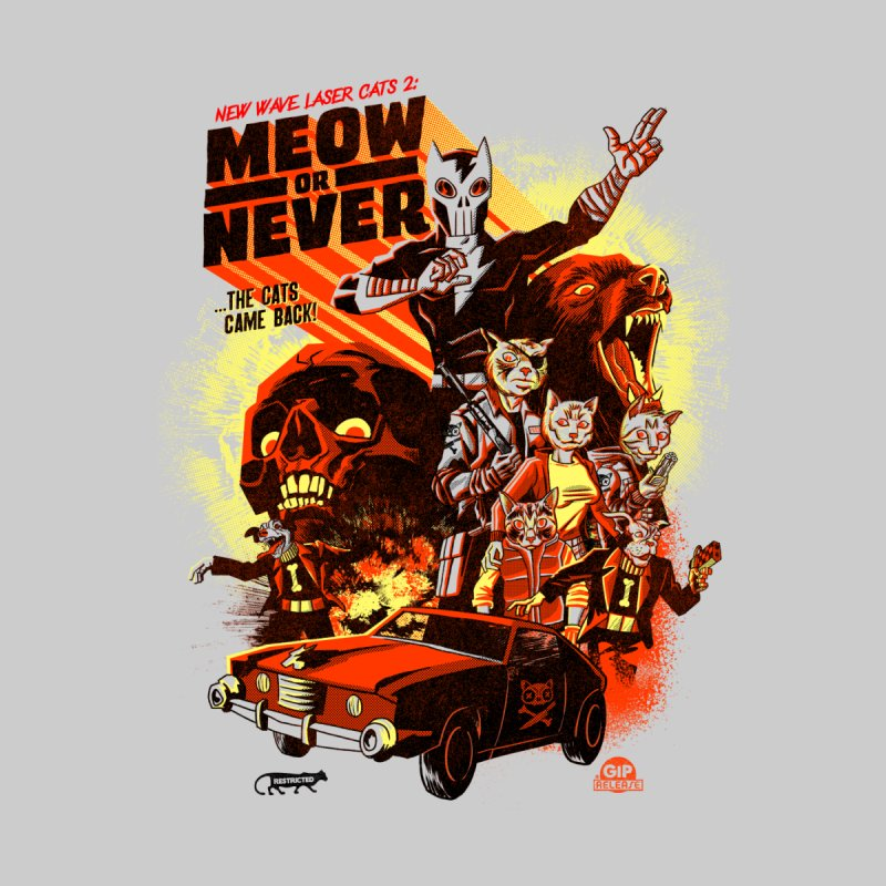 New wave laser cats 2: meow or never by Gimetzco's Damaged Goods