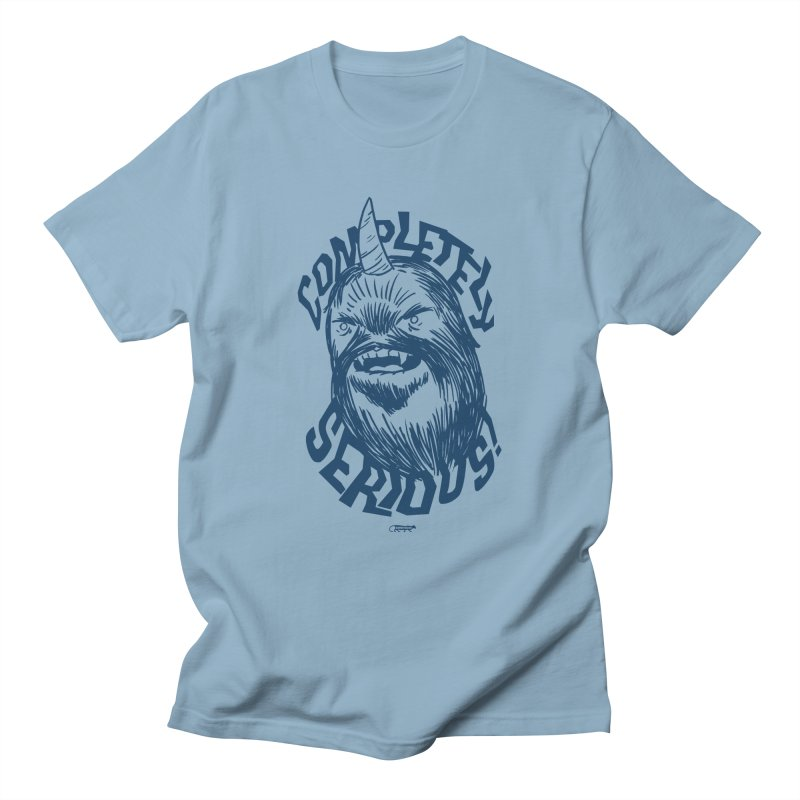 Completely Serious Women's Regular Unisex T-Shirt by Gimetzco's Damaged Goods