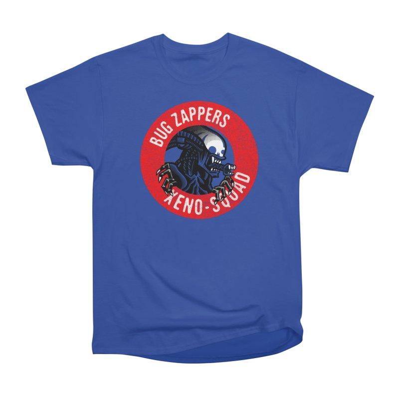 Bug Zappers Women's Heavyweight Unisex T-Shirt by Gimetzco's Damaged Goods