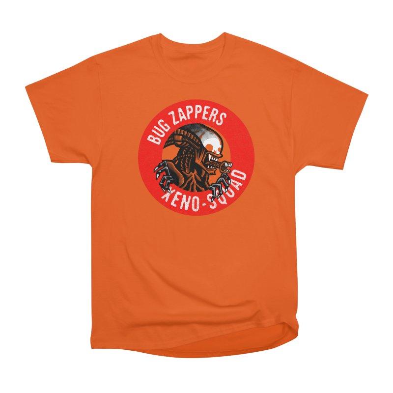 Bug Zappers Men's Heavyweight T-Shirt by Gimetzco's Damaged Goods