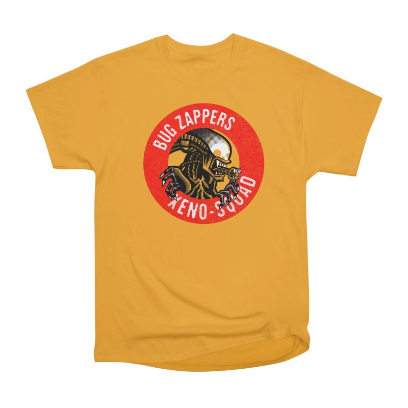 Bug Zappers Men's Heavyweight T-Shirt by Gimetzco's Damaged Goods
