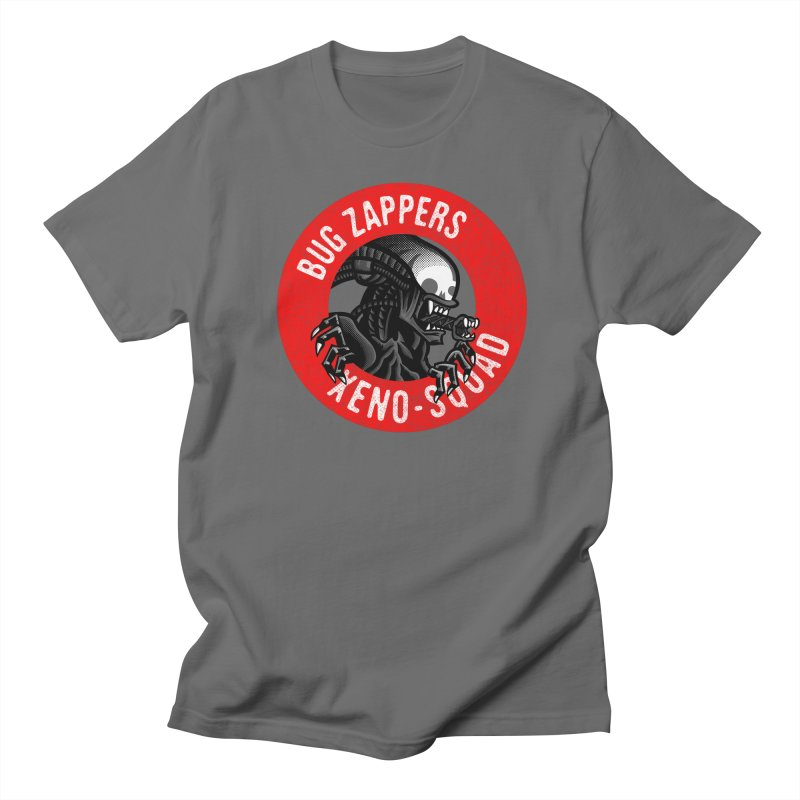 Bug Zappers Men's Regular T-Shirt by Gimetzco's Damaged Goods