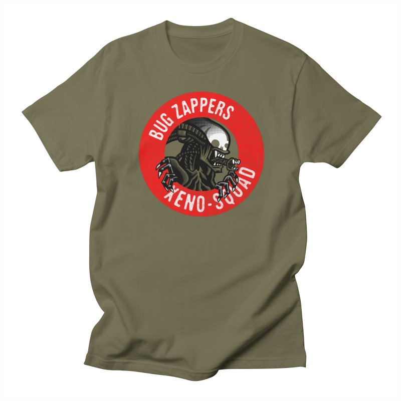 Bug Zappers Women's Regular Unisex T-Shirt by Gimetzco's Damaged Goods