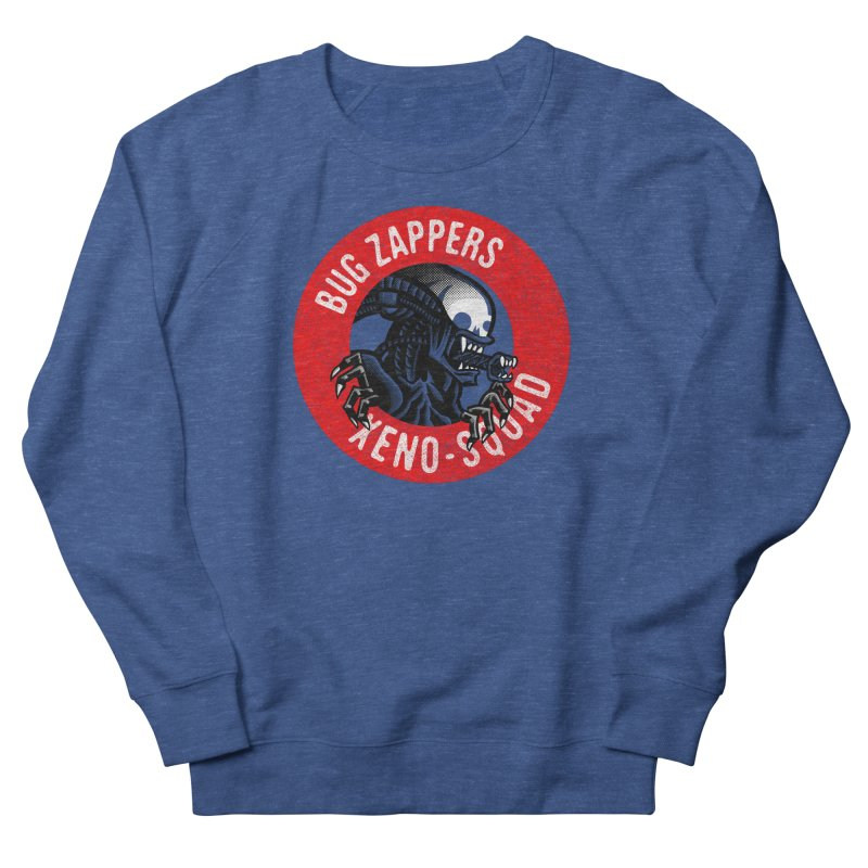 Bug Zappers Men's French Terry Sweatshirt by Gimetzco's Damaged Goods