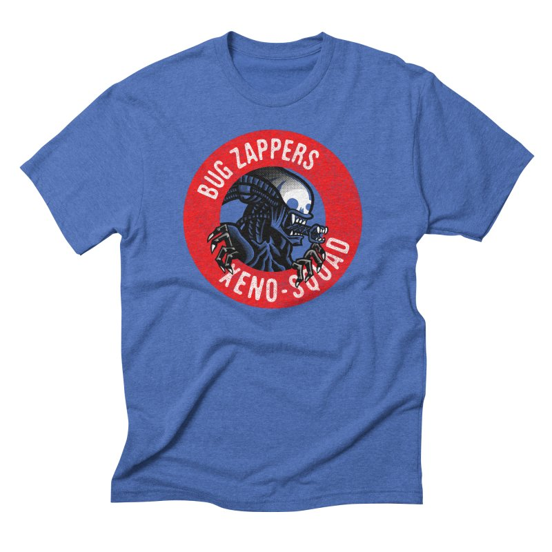 Bug Zappers Men's Triblend T-Shirt by Gimetzco's Damaged Goods