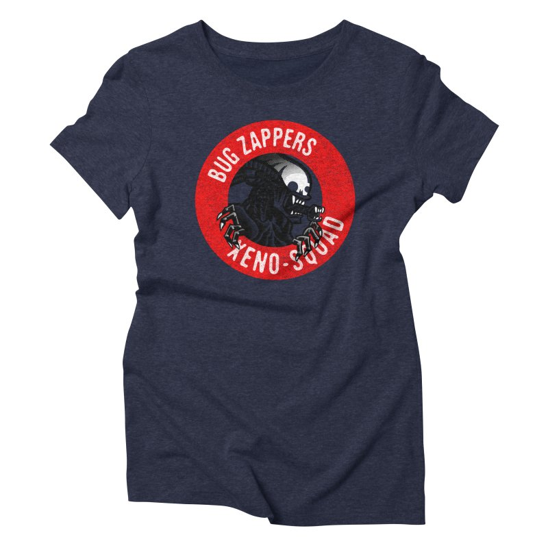 Bug Zappers Women's Triblend T-Shirt by Gimetzco's Damaged Goods