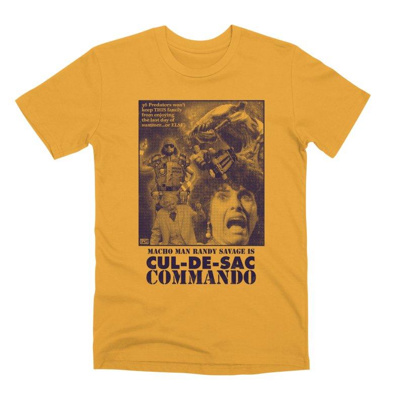 CUL-DE-SAC COMMANDO Men's Premium T-Shirt by Gimetzco's Damaged Goods