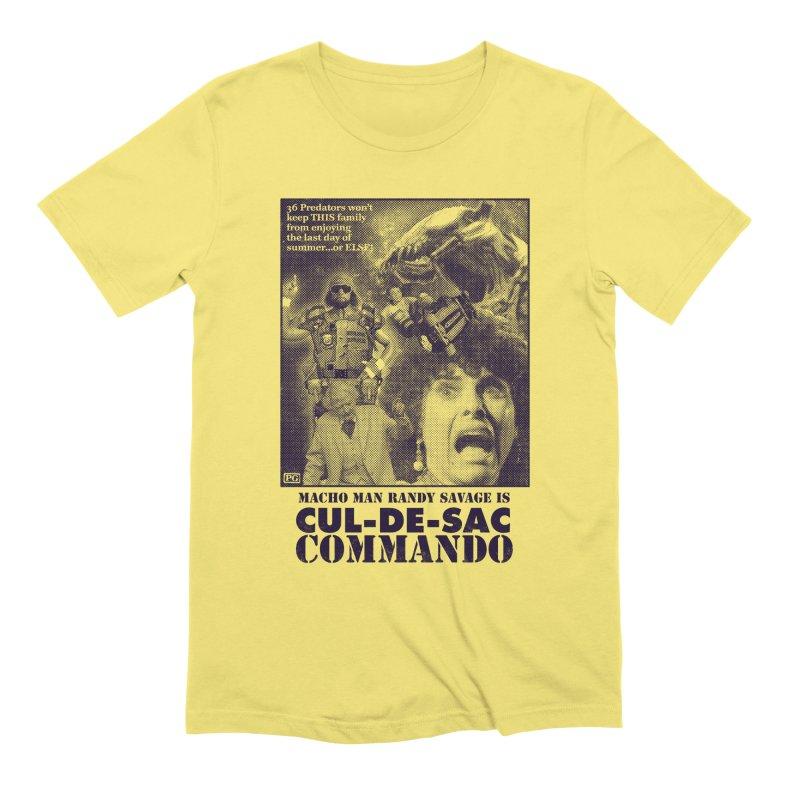 CUL-DE-SAC COMMANDO Men's Extra Soft T-Shirt by Gimetzco's Damaged Goods