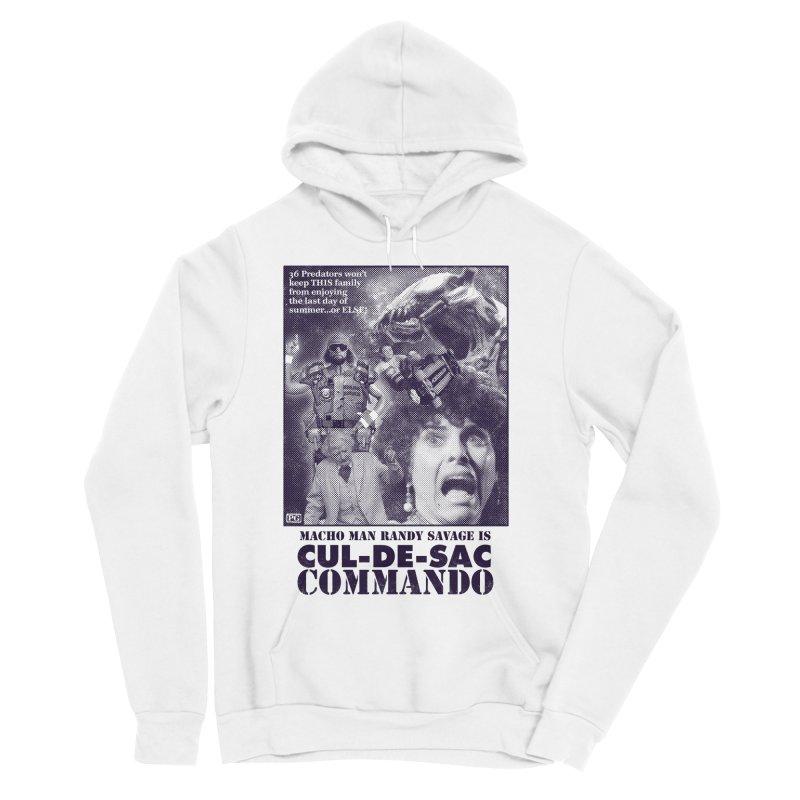 CUL-DE-SAC COMMANDO Women's Sponge Fleece Pullover Hoody by Gimetzco's Damaged Goods