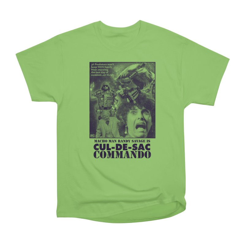 CUL-DE-SAC COMMANDO Women's Heavyweight Unisex T-Shirt by Gimetzco's Damaged Goods