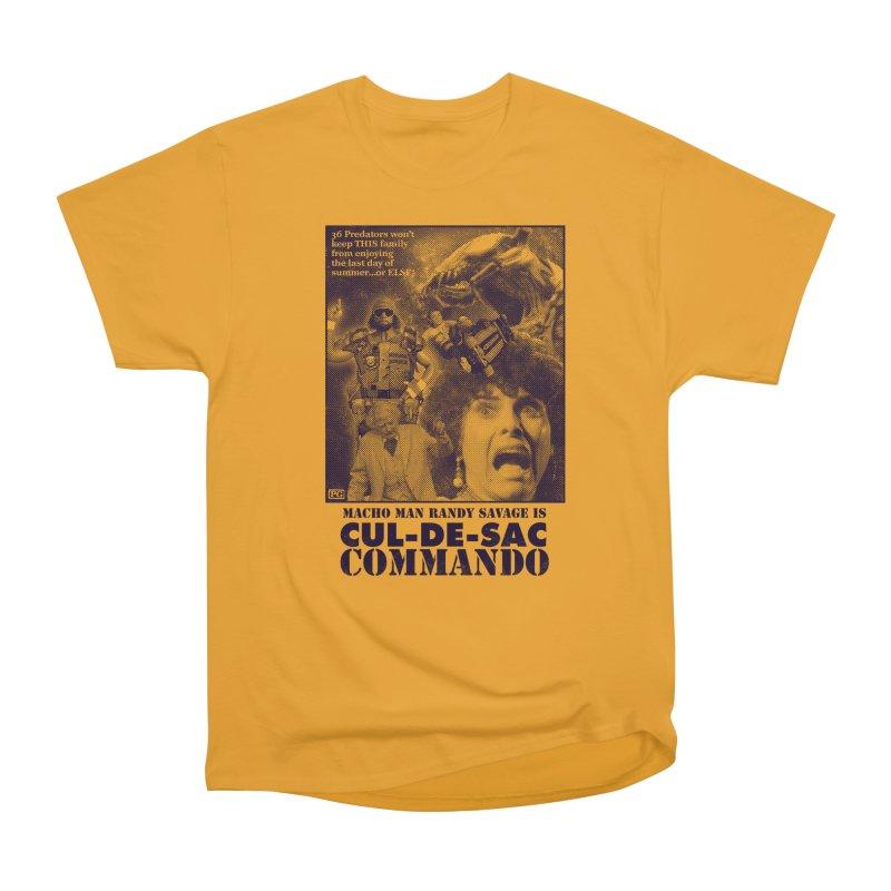CUL-DE-SAC COMMANDO Men's Heavyweight T-Shirt by Gimetzco's Damaged Goods