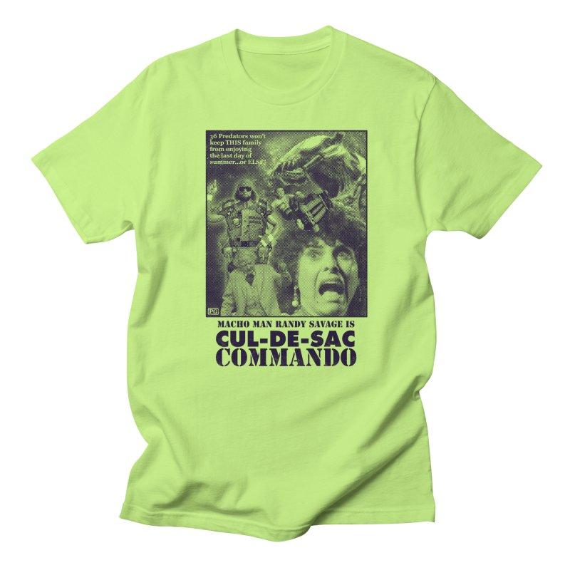 CUL-DE-SAC COMMANDO Women's Regular Unisex T-Shirt by Gimetzco's Damaged Goods
