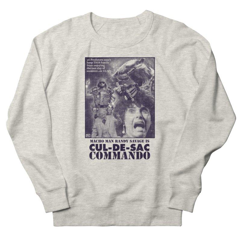 CUL-DE-SAC COMMANDO Men's French Terry Sweatshirt by Gimetzco's Damaged Goods