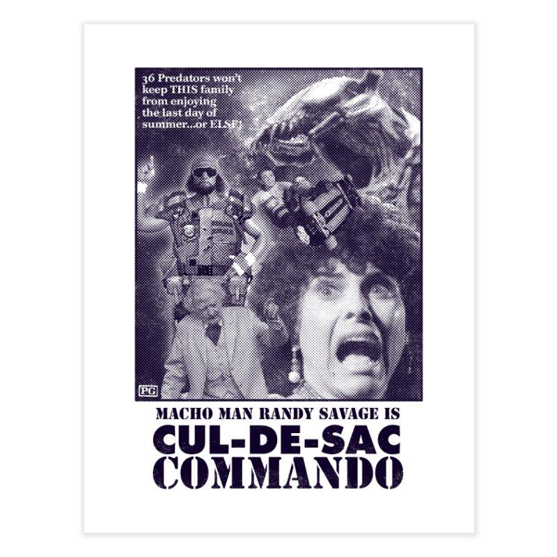 CUL-DE-SAC COMMANDO Home Fine Art Print by Gimetzco's Damaged Goods