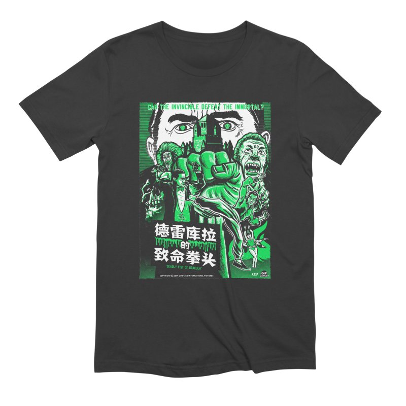 DEADLY FIST OF DRACULA Men's Extra Soft T-Shirt by Gimetzco's Damaged Goods