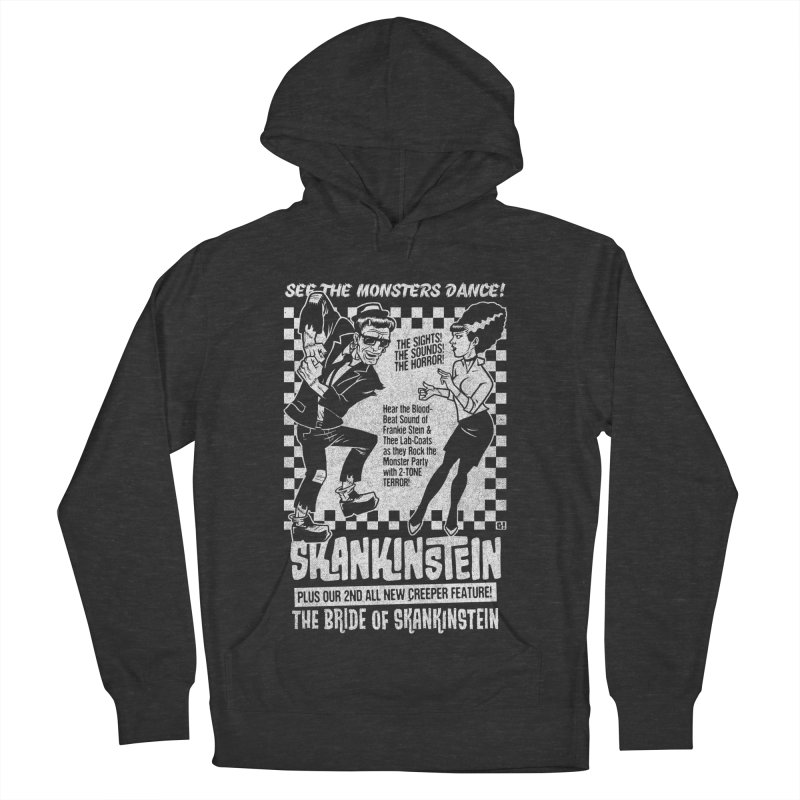 Skankinstein Men's French Terry Pullover Hoody by Gimetzco's Damaged Goods