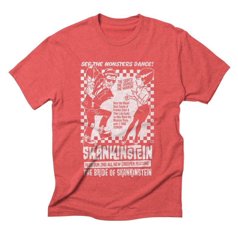 Skankinstein Men's Triblend T-Shirt by Gimetzco's Damaged Goods