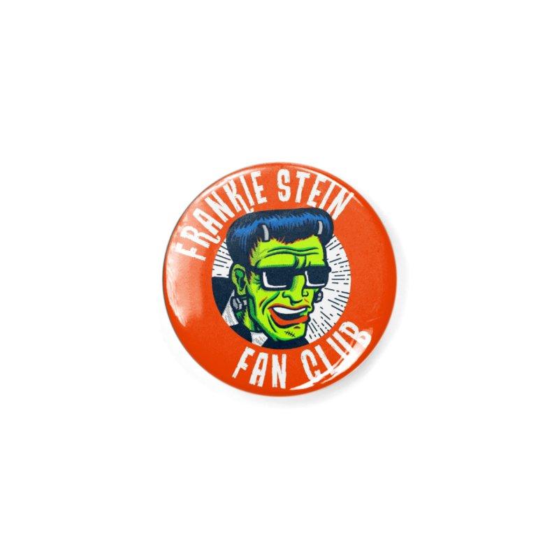 Frankie Stein Fan Club Accessories Button by Gimetzco's Damaged Goods