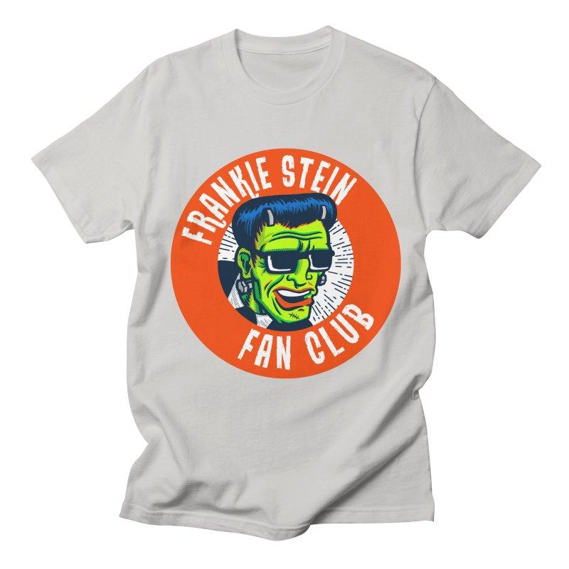 Frankie Stein Fan Club Men's Regular T-Shirt by Gimetzco's Damaged Goods
