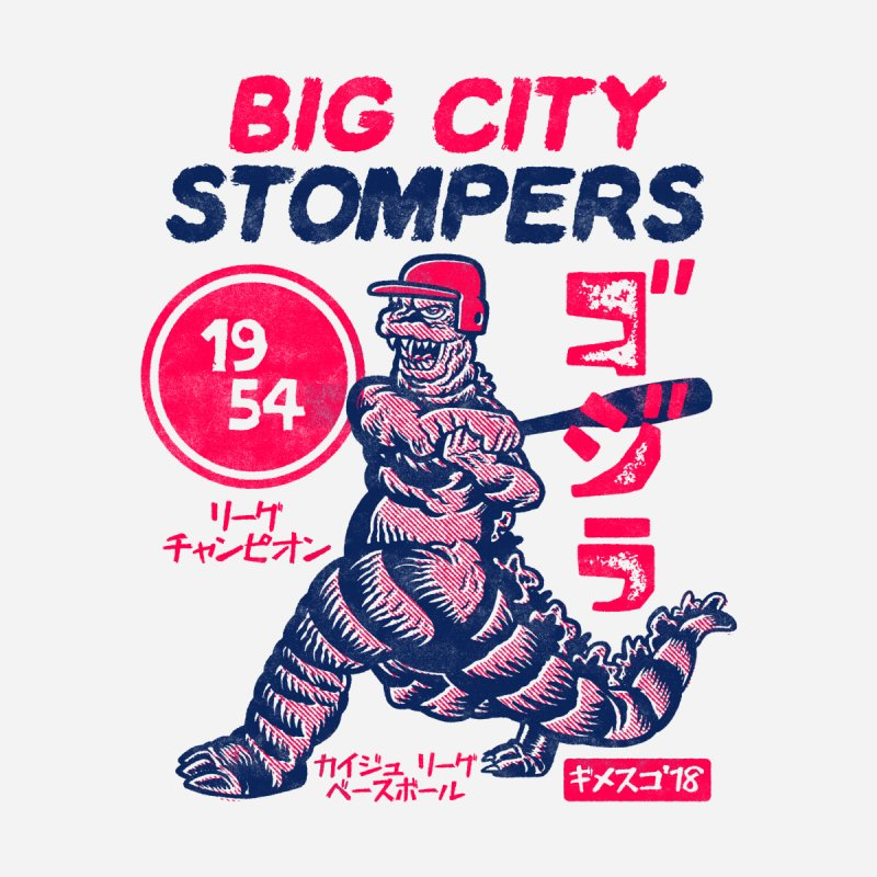 BIG CITY STOMPERS Men's T-Shirt by Gimetzco's Damaged Goods