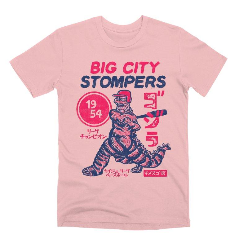 BIG CITY STOMPERS Men's Premium T-Shirt by Gimetzco's Damaged Goods