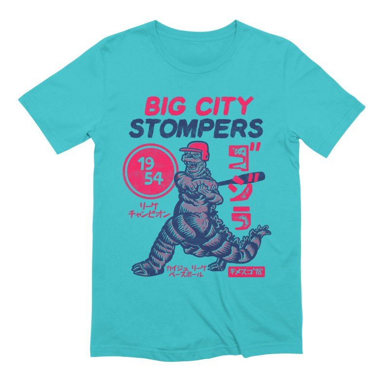 BIG CITY STOMPERS Men's Extra Soft T-Shirt by Gimetzco's Damaged Goods