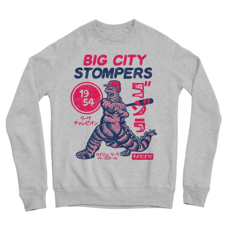BIG CITY STOMPERS Men's Sponge Fleece Sweatshirt by Gimetzco's Damaged Goods