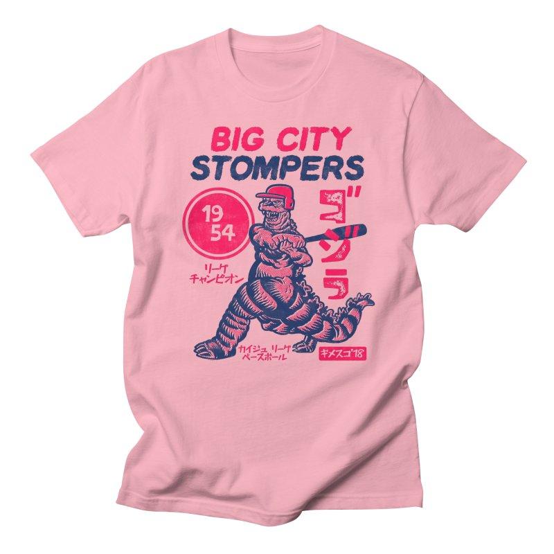 BIG CITY STOMPERS Men's Regular T-Shirt by Gimetzco's Damaged Goods