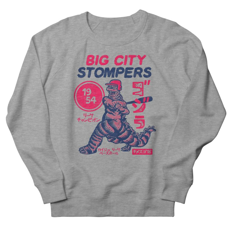 BIG CITY STOMPERS Men's French Terry Sweatshirt by Gimetzco's Damaged Goods