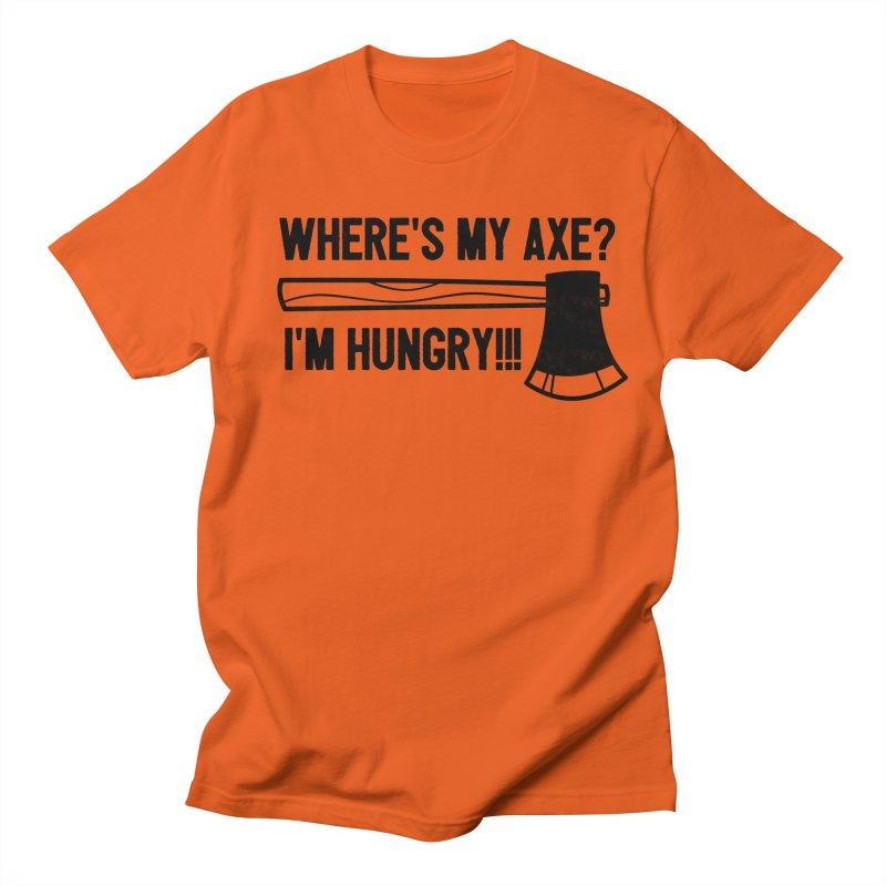 HUNGRY AXE Men's Regular T-Shirt by Gimetzco's Damaged Goods