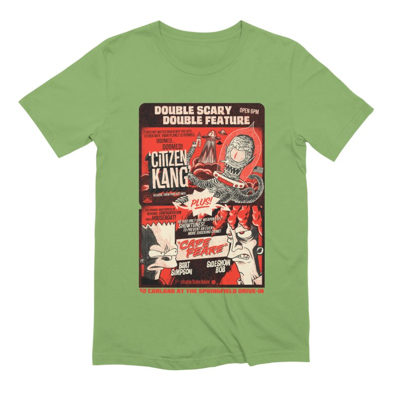 Double scary Double feature Men's Extra Soft T-Shirt by Gimetzco's Damaged Goods