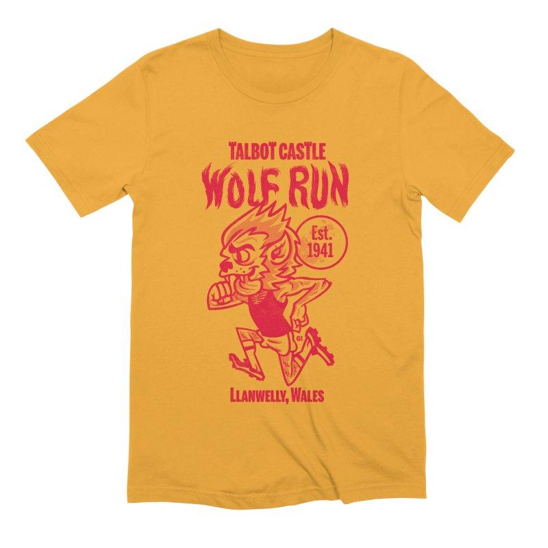 talbot castle wolf run Men's Extra Soft T-Shirt by Gimetzco's Damaged Goods
