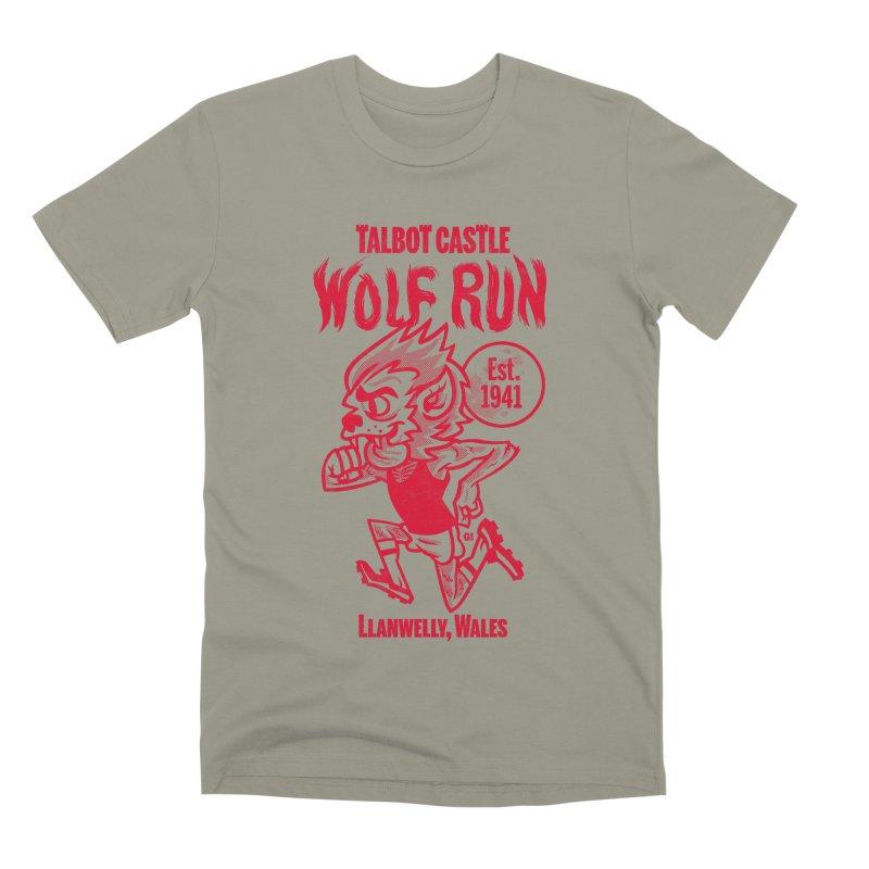 talbot castle wolf run Men's Premium T-Shirt by Gimetzco's Damaged Goods
