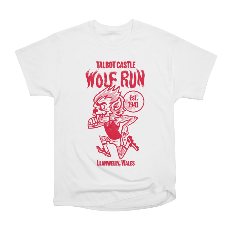 talbot castle wolf run Men's Heavyweight T-Shirt by Gimetzco's Damaged Goods