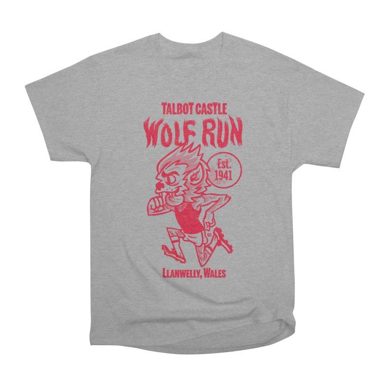 talbot castle wolf run Women's Heavyweight Unisex T-Shirt by Gimetzco's Damaged Goods