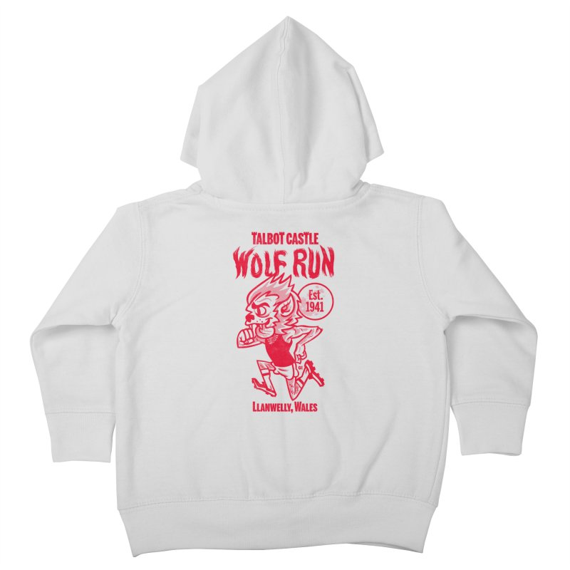 talbot castle wolf run Kids Toddler Zip-Up Hoody by Gimetzco's Damaged Goods