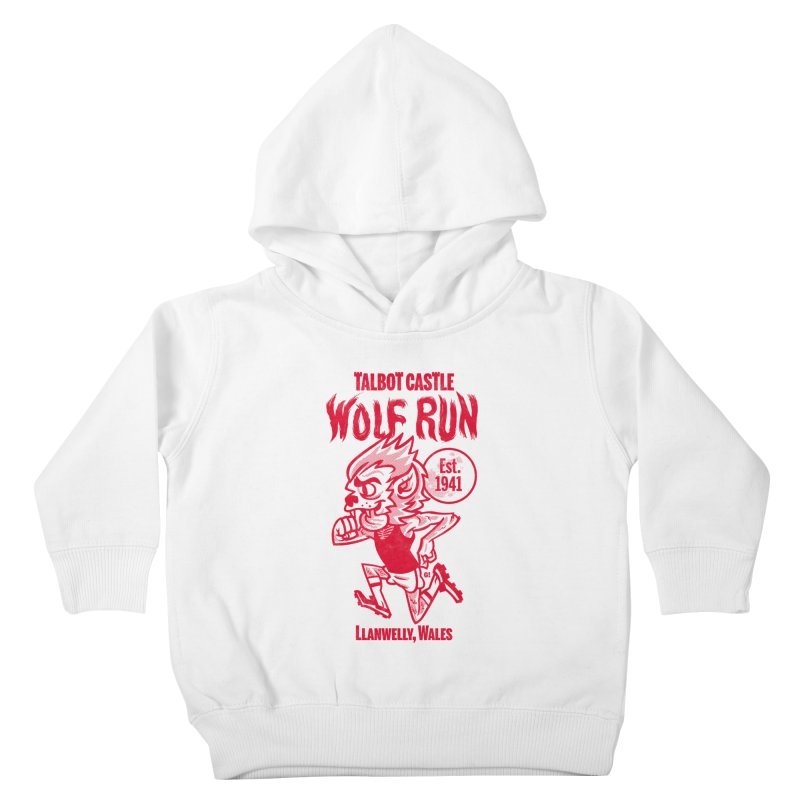 talbot castle wolf run Kids Toddler Pullover Hoody by Gimetzco's Damaged Goods