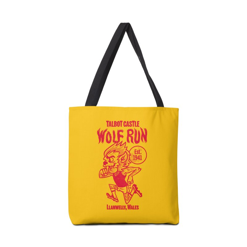talbot castle wolf run Accessories Bag by Gimetzco's Damaged Goods
