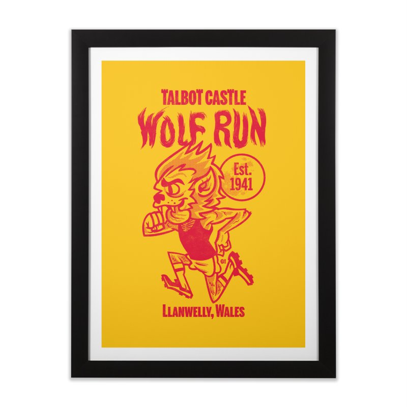 talbot castle wolf run Home Framed Fine Art Print by Gimetzco's Damaged Goods