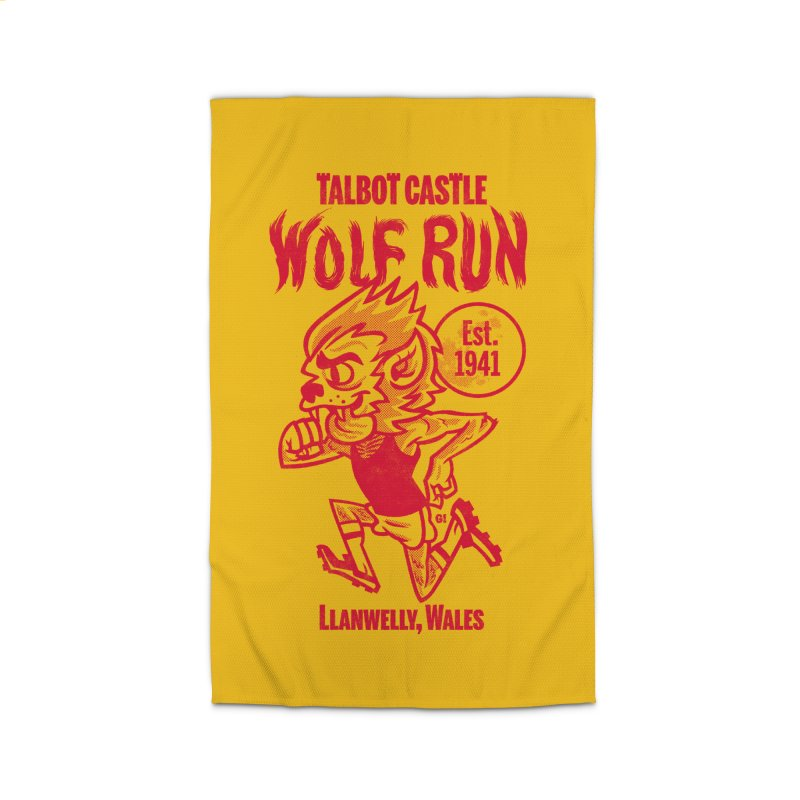 talbot castle wolf run Home Rug by Gimetzco's Damaged Goods