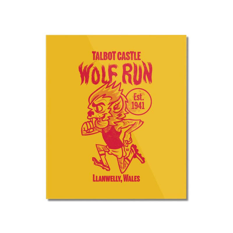 talbot castle wolf run Home Mounted Acrylic Print by Gimetzco's Damaged Goods