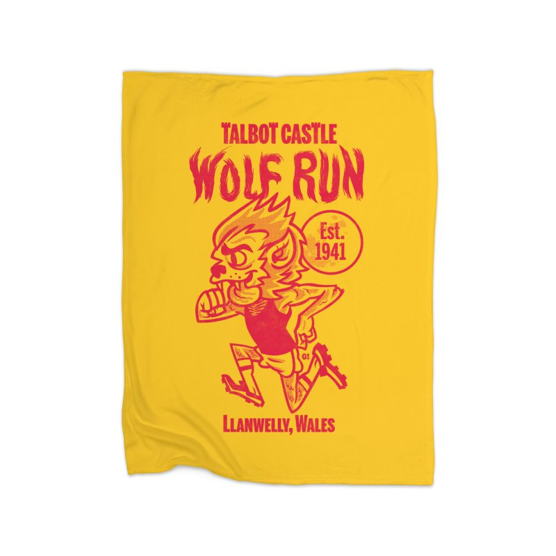 talbot castle wolf run Home Blanket by Gimetzco's Damaged Goods