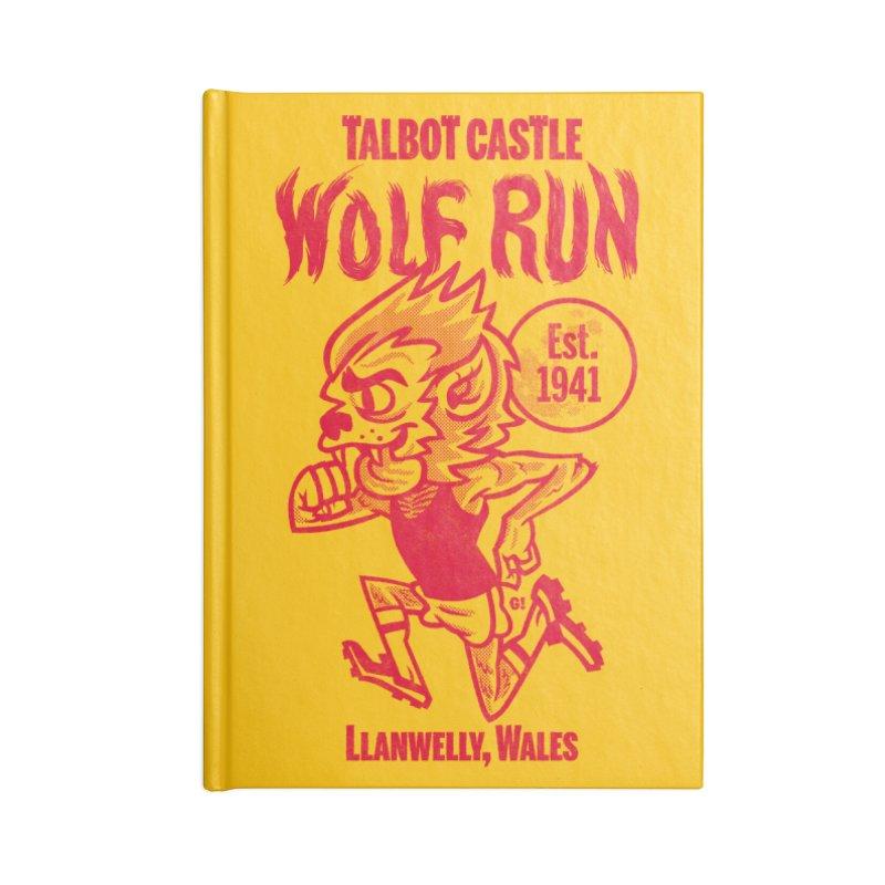 talbot castle wolf run Accessories Notebook by Gimetzco's Damaged Goods