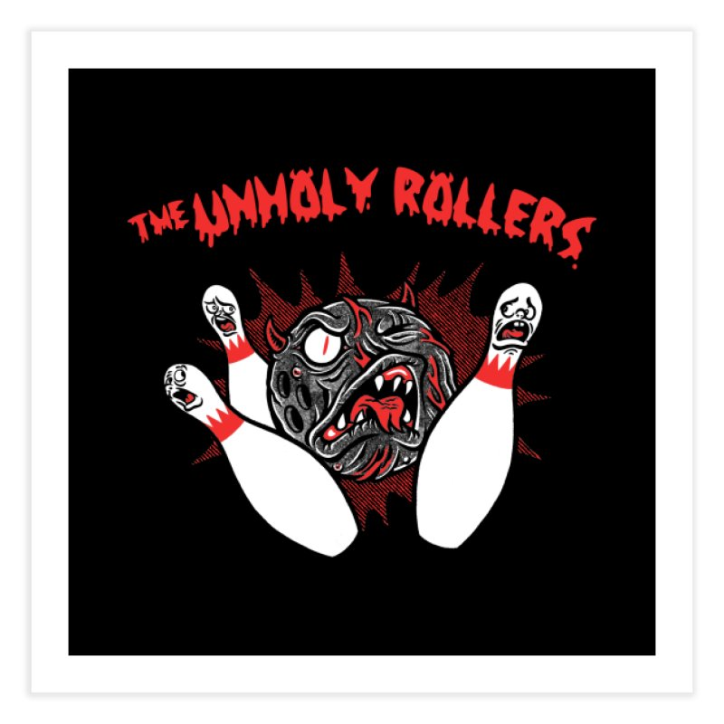 The Unholy Rollers Home Fine Art Print by Gimetzco's Damaged Goods