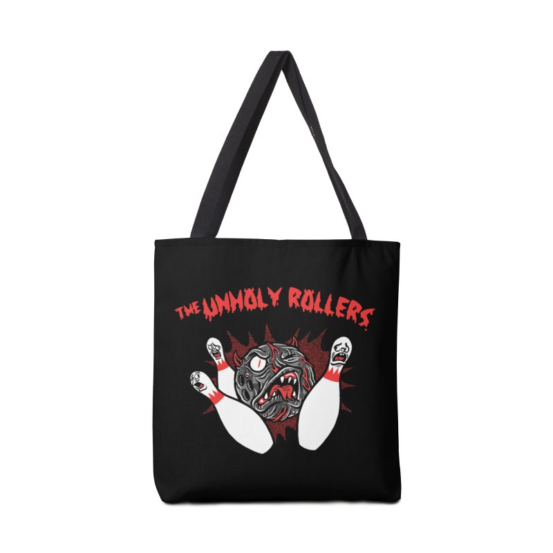 The Unholy Rollers Accessories Tote Bag Bag by Gimetzco's Damaged Goods