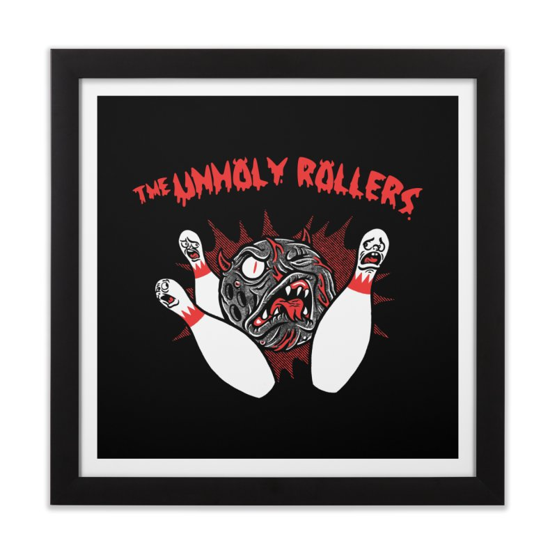 The Unholy Rollers Home Framed Fine Art Print by Gimetzco's Damaged Goods
