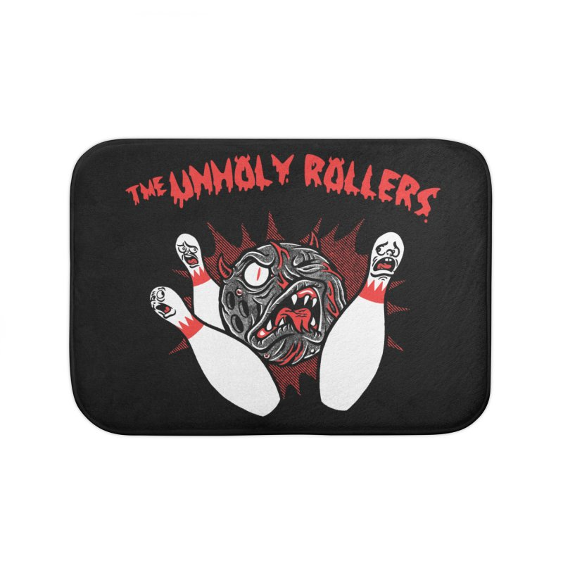 The Unholy Rollers Home Bath Mat by Gimetzco's Damaged Goods